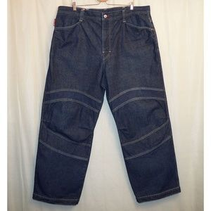 GUESS Relaxed Jeans Men's 42 X 32 Blue